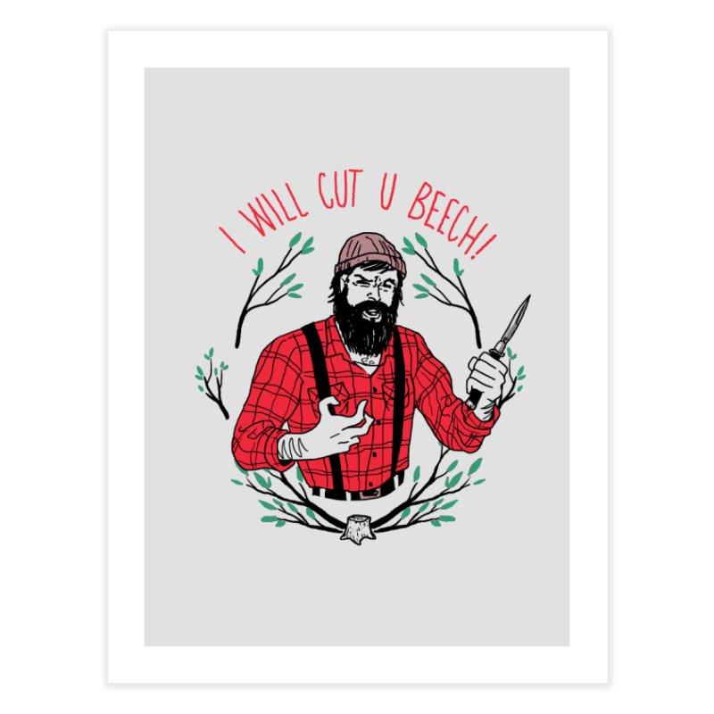 Cut U Beech Home Fine Art Print by hillarywhiterabbit's Artist Shop