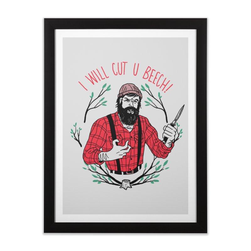 Cut U Beech Home Framed Fine Art Print by hillarywhiterabbit's Artist Shop