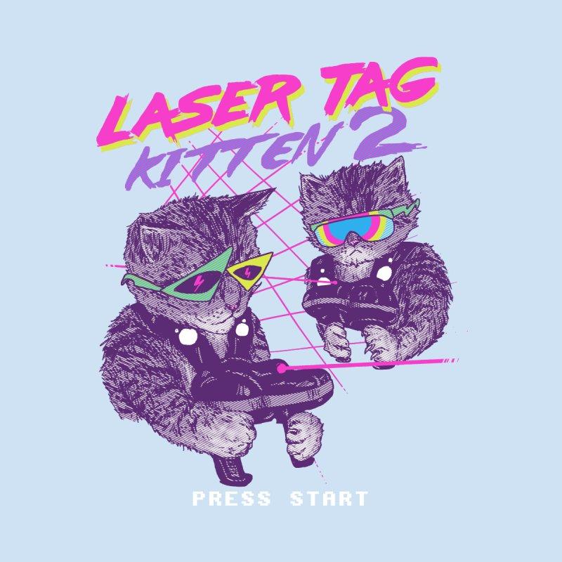 Laser Tag Kitten 2 by hillarywhiterabbit's Artist Shop
