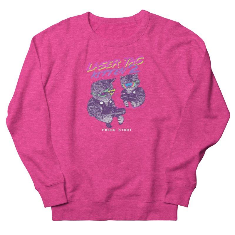 Laser Tag Kitten 2 Women's Sweatshirt by hillarywhiterabbit's Artist Shop