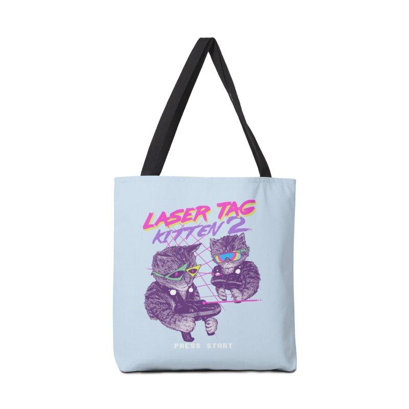 Laser Tag Kitten 2 Accessories Bag by hillarywhiterabbit's Artist Shop