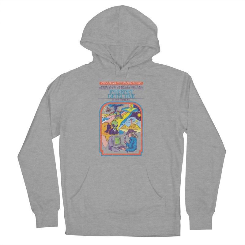 Internet Detective Men's Pullover Hoody by hillarywhiterabbit's Artist Shop