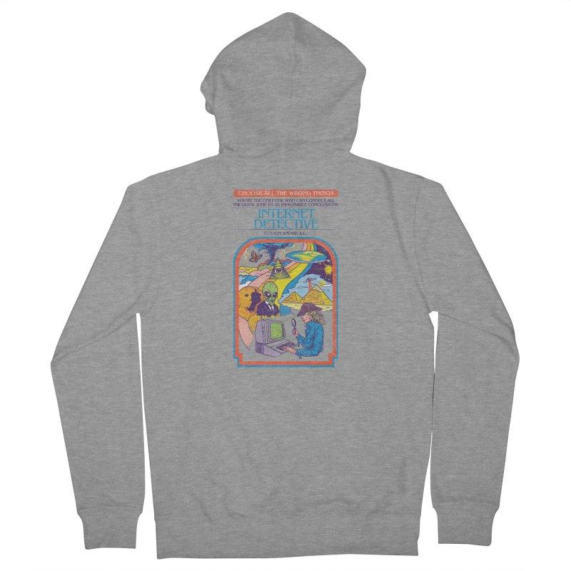 Internet Detective Men's Zip-Up Hoody by hillarywhiterabbit's Artist Shop