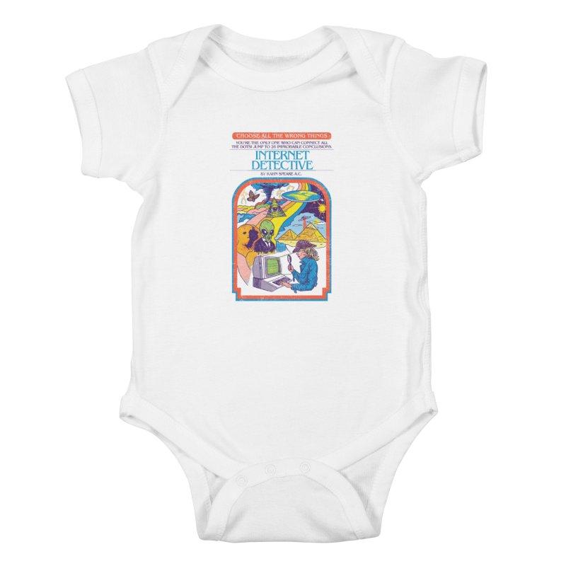 Internet Detective Kids Baby Bodysuit by hillarywhiterabbit's Artist Shop