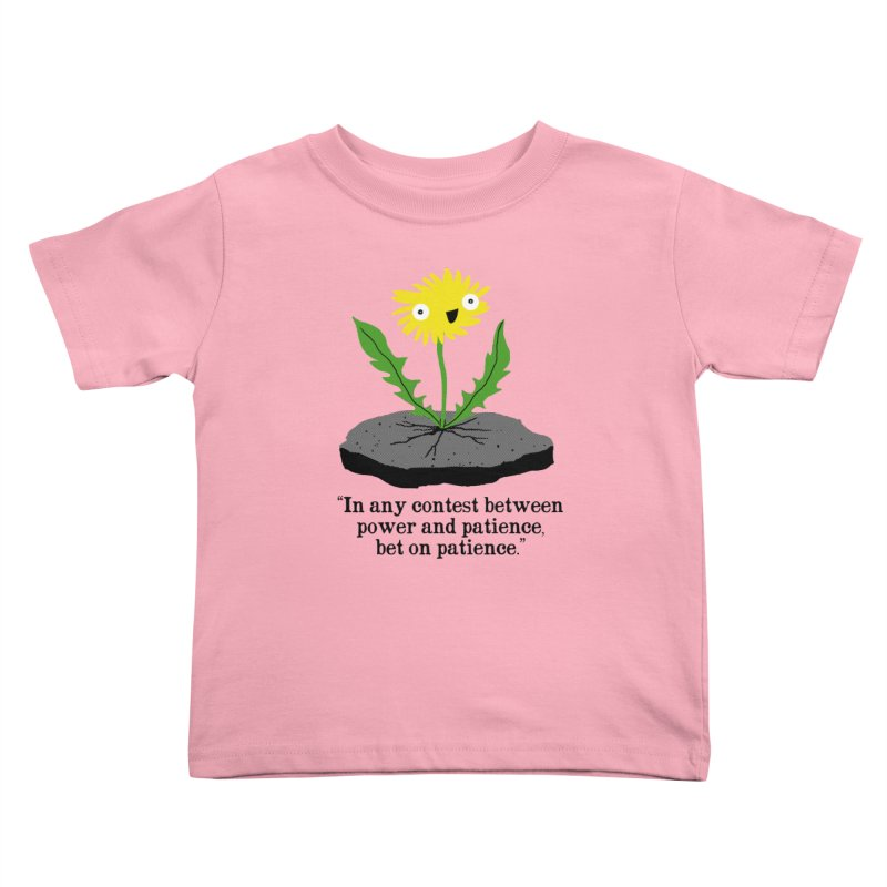 Can't Keep Me Down Kids Toddler T-Shirt by hillarywhiterabbit's Artist Shop