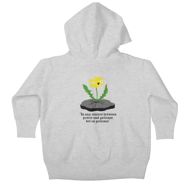 Can't Keep Me Down Kids Baby Zip-Up Hoody by hillarywhiterabbit's Artist Shop