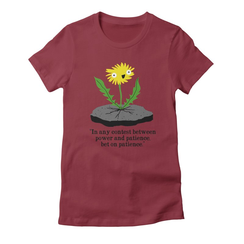 Can't Keep Me Down Women's Fitted T-Shirt by hillarywhiterabbit's Artist Shop