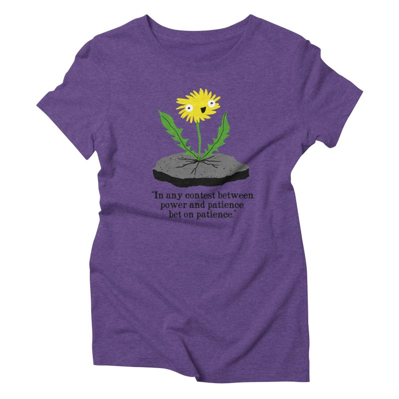 Can't Keep Me Down Women's Triblend T-Shirt by hillarywhiterabbit's Artist Shop