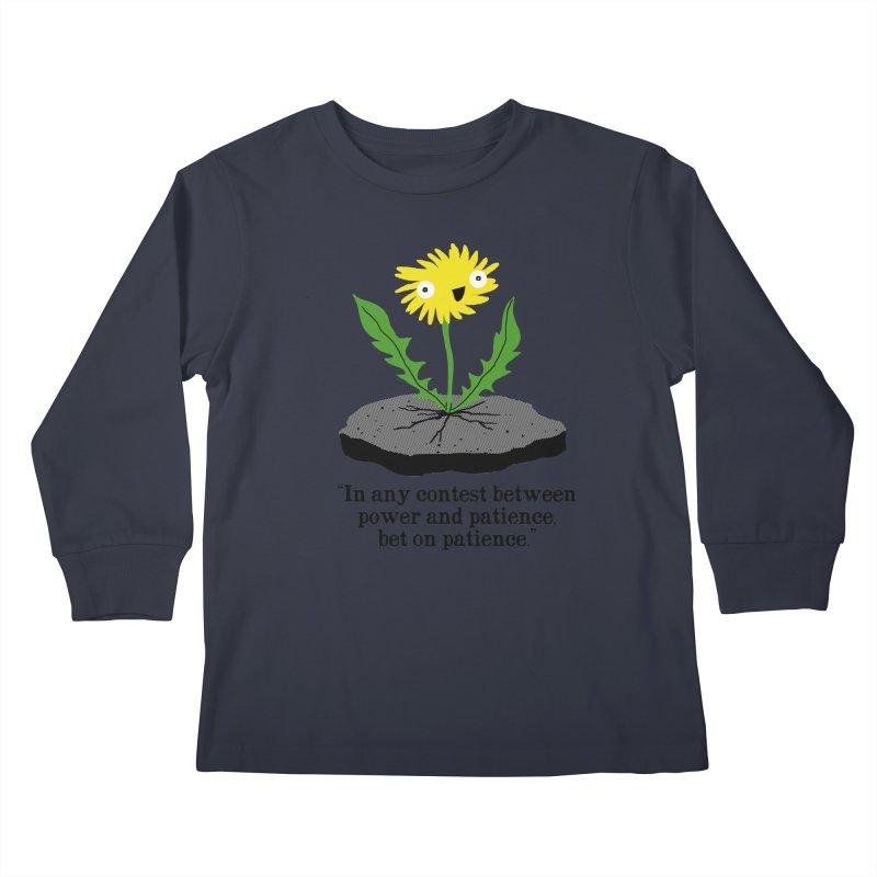Can't Keep Me Down Kids Longsleeve T-Shirt by hillarywhiterabbit's Artist Shop