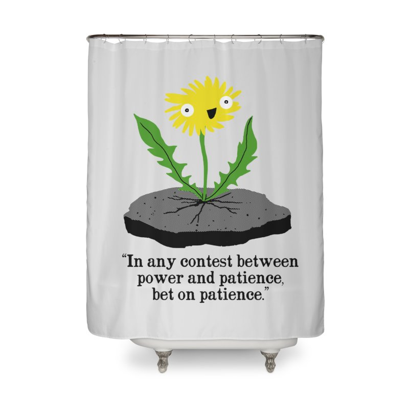 Can't Keep Me Down Home Shower Curtain by hillarywhiterabbit's Artist Shop