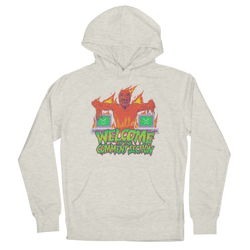 Welcome To The Comment Section Women's Pullover Hoody by hillarywhiterabbit's Artist Shop