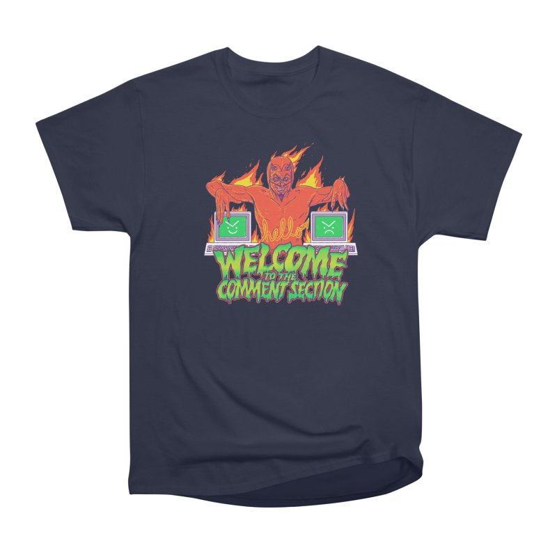 Welcome To The Comment Section Women's Classic Unisex T-Shirt by hillarywhiterabbit's Artist Shop