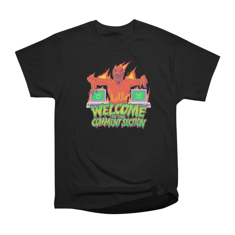 Welcome To The Comment Section Men's Classic T-Shirt by hillarywhiterabbit's Artist Shop