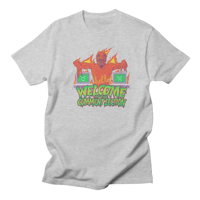 Welcome To The Comment Section Men's T-Shirt by hillarywhiterabbit's Artist Shop