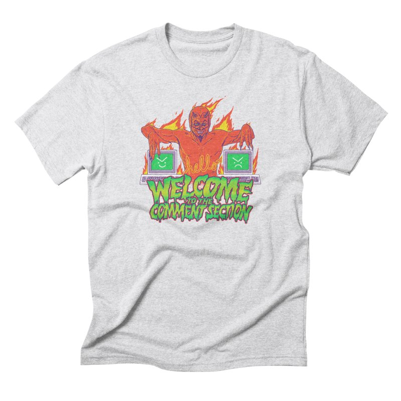 Welcome To The Comment Section Men's Triblend T-Shirt by hillarywhiterabbit's Artist Shop