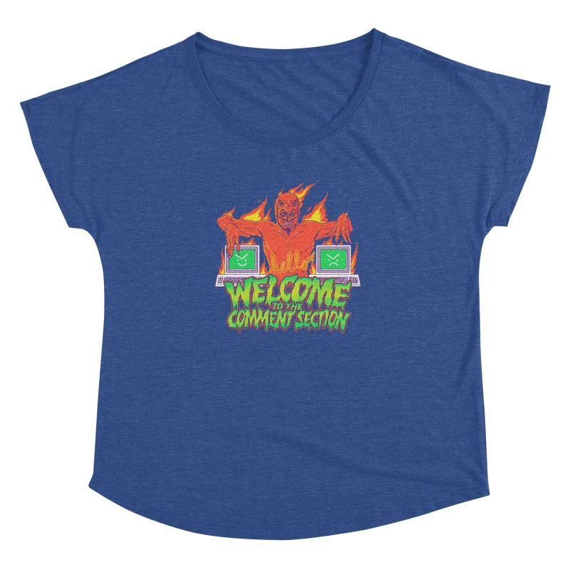 Welcome To The Comment Section Women's Dolman by hillarywhiterabbit's Artist Shop