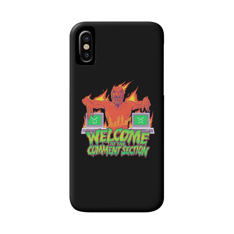 Welcome To The Comment Section Accessories Phone Case by hillarywhiterabbit's Artist Shop