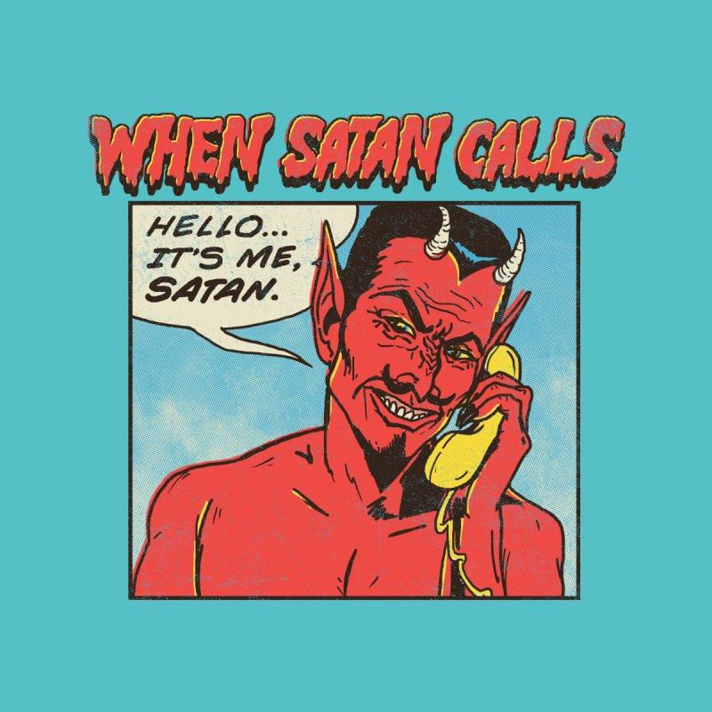 When Satan Calls by hillarywhiterabbit's Artist Shop