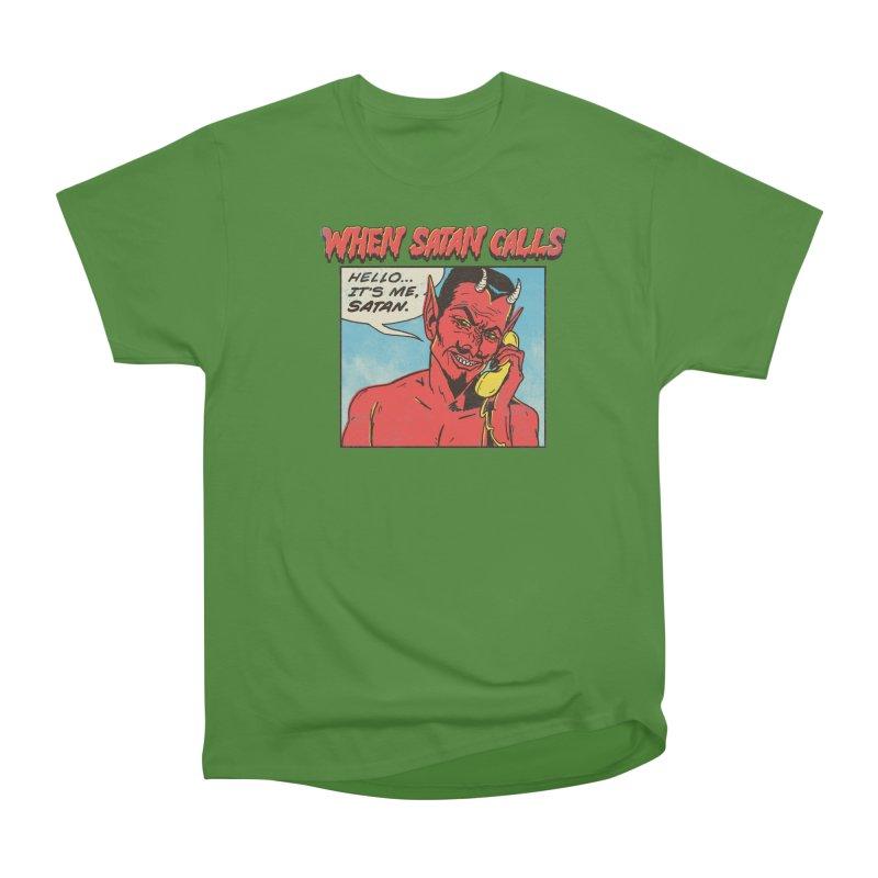 When Satan Calls Men's Classic T-Shirt by hillarywhiterabbit's Artist Shop