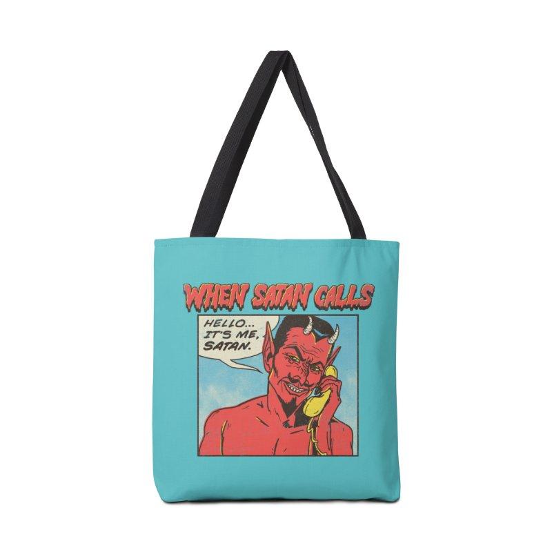 When Satan Calls Accessories Bag by hillarywhiterabbit's Artist Shop