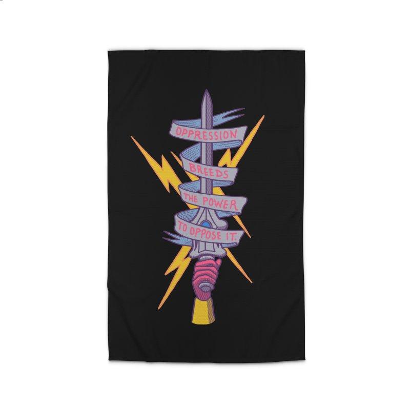 Oppose It Home Rug by hillarywhiterabbit's Artist Shop