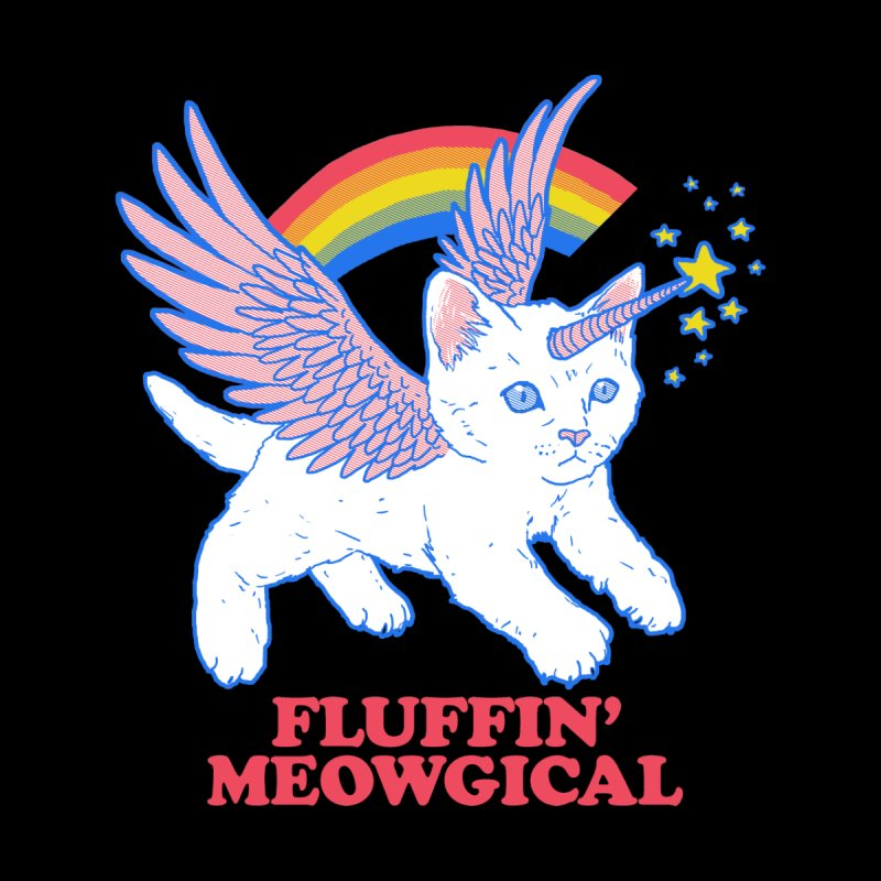 Fluffin' Meowgical Accessories Button by Hillary White