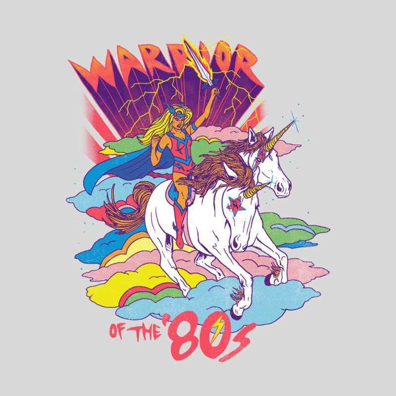 Warrior of the '80s Men's T-Shirt by Hillary White Rabbit