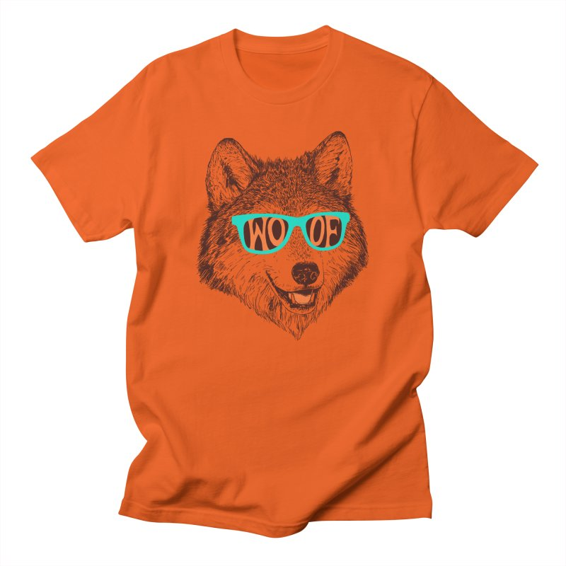 Woof Men's T-Shirt by Hillary White Rabbit