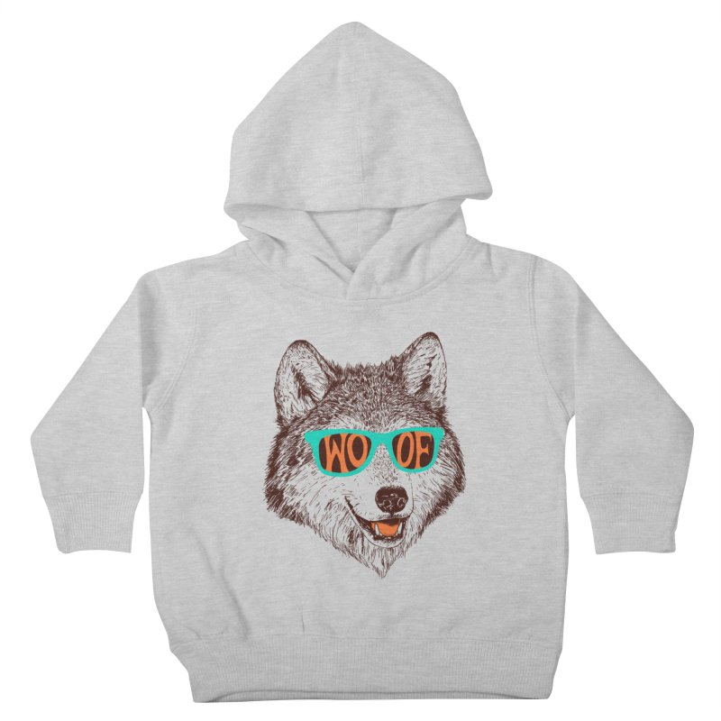 Woof Kids Toddler Pullover Hoody by Hillary White Rabbit