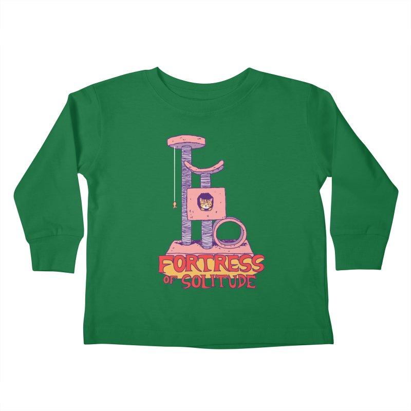 Fortress of Solitude Kids Toddler Longsleeve T-Shirt by hillarywhiterabbit's Artist Shop