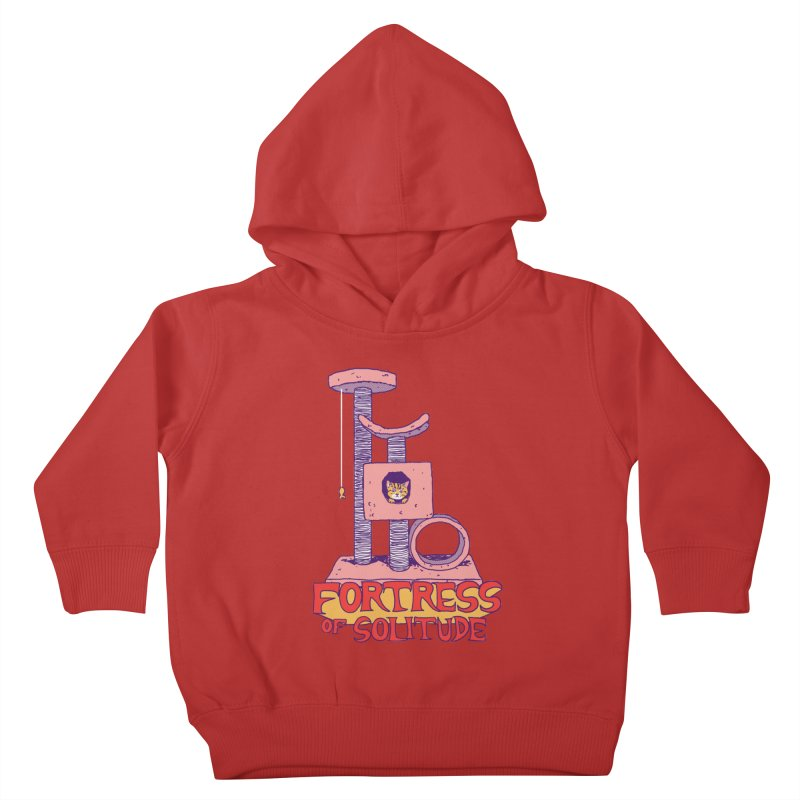 Fortress of Solitude Kids Toddler Pullover Hoody by hillarywhiterabbit's Artist Shop
