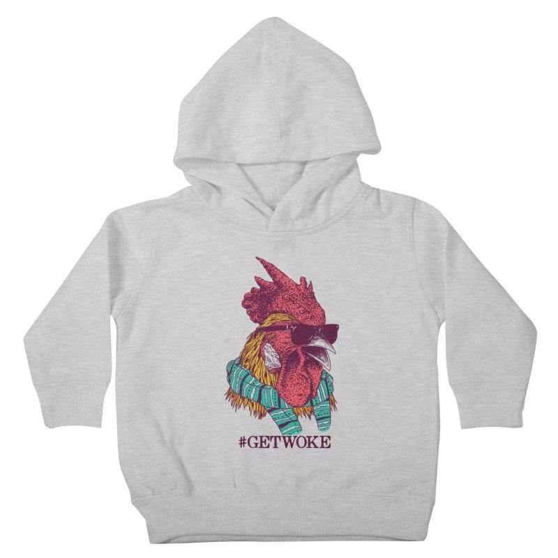 Get Woke Kids Toddler Pullover Hoody by hillarywhiterabbit's Artist Shop