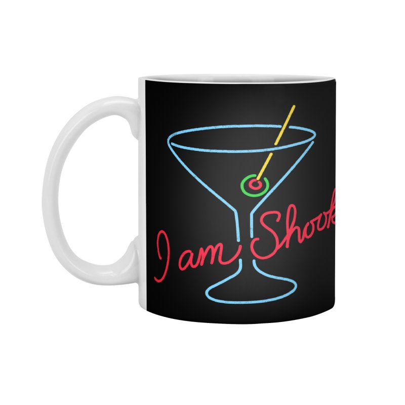 I Am Shook Accessories Mug by hillarywhiterabbit's Artist Shop