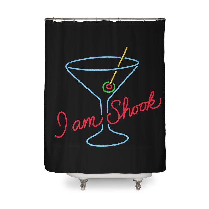 I Am Shook Home Shower Curtain by hillarywhiterabbit's Artist Shop