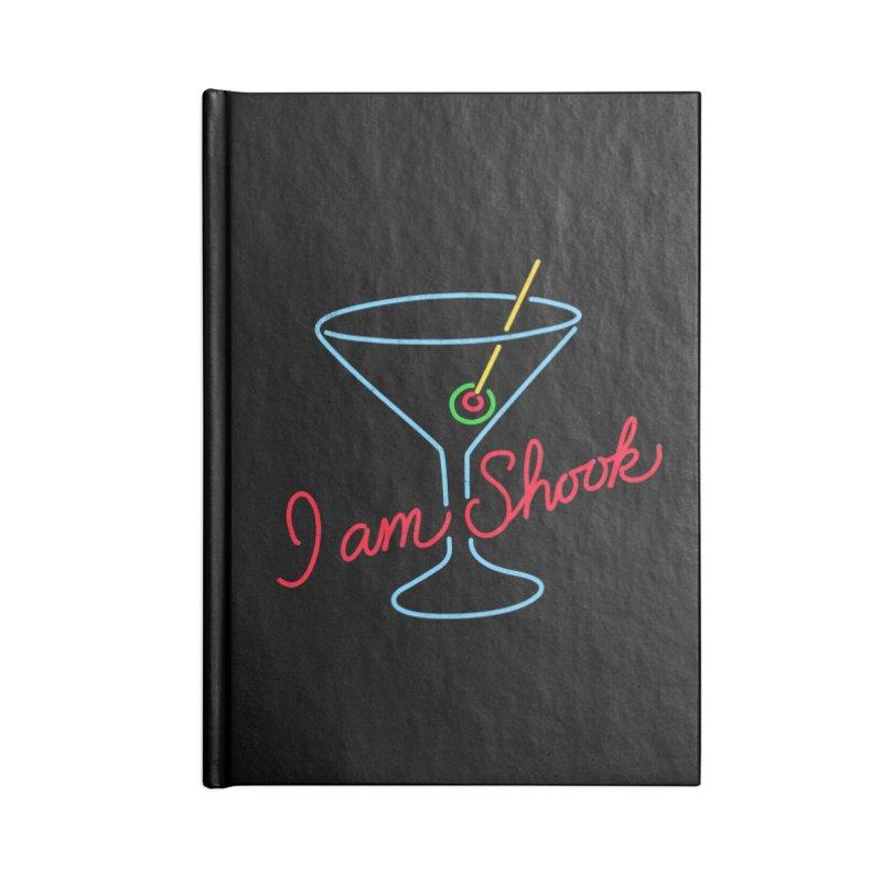 I Am Shook Accessories Notebook by hillarywhiterabbit's Artist Shop