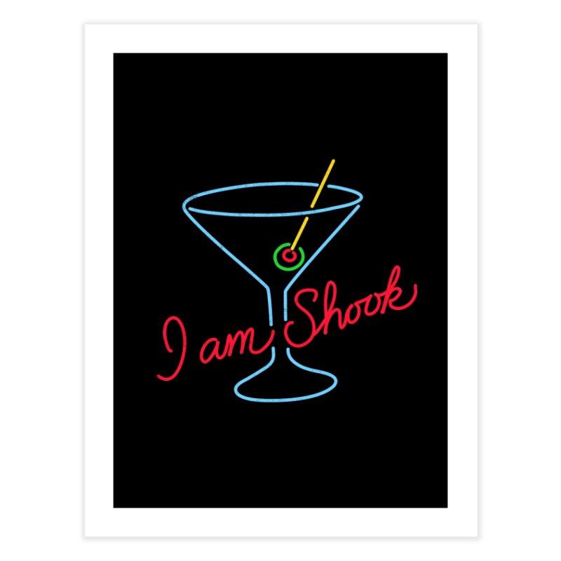 I Am Shook Home Fine Art Print by hillarywhiterabbit's Artist Shop