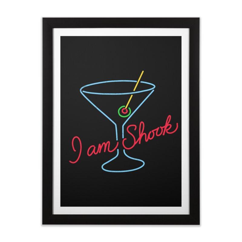 I Am Shook Home Framed Fine Art Print by hillarywhiterabbit's Artist Shop