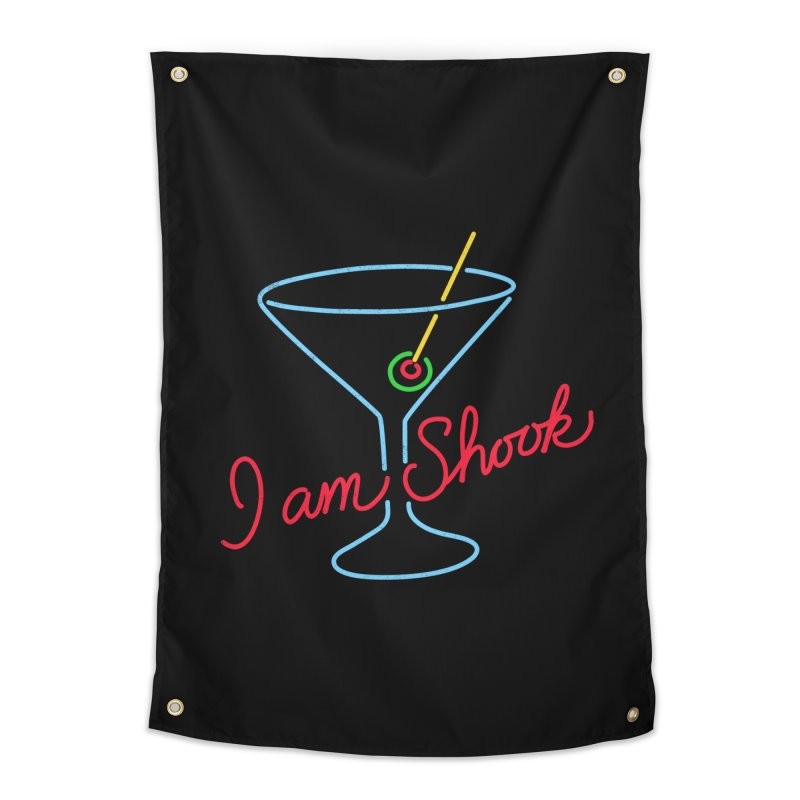 I Am Shook Home Tapestry by hillarywhiterabbit's Artist Shop