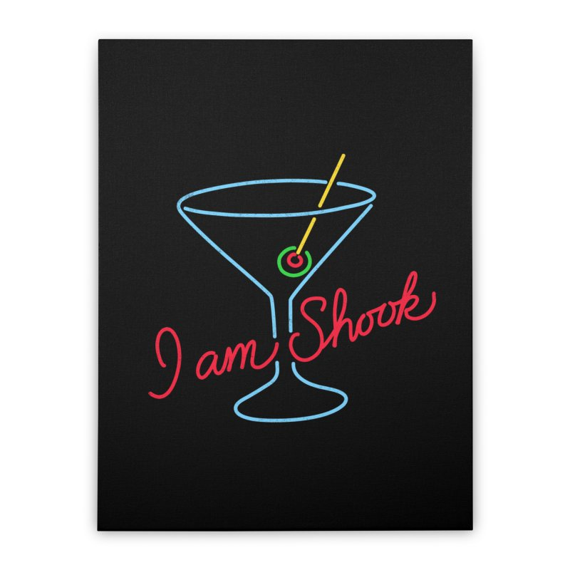 I Am Shook Home Stretched Canvas by hillarywhiterabbit's Artist Shop