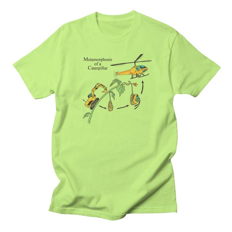 Metamorphosis of a Caterpillar Men's T-Shirt by hillarywhiterabbit's Artist Shop