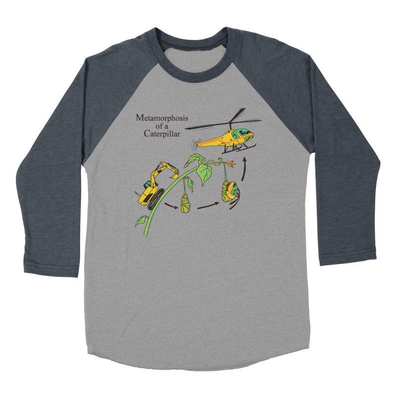 Metamorphosis of a Caterpillar Women's Baseball Triblend T-Shirt by hillarywhiterabbit's Artist Shop