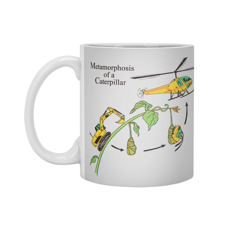 Metamorphosis of a Caterpillar Accessories Mug by hillarywhiterabbit's Artist Shop