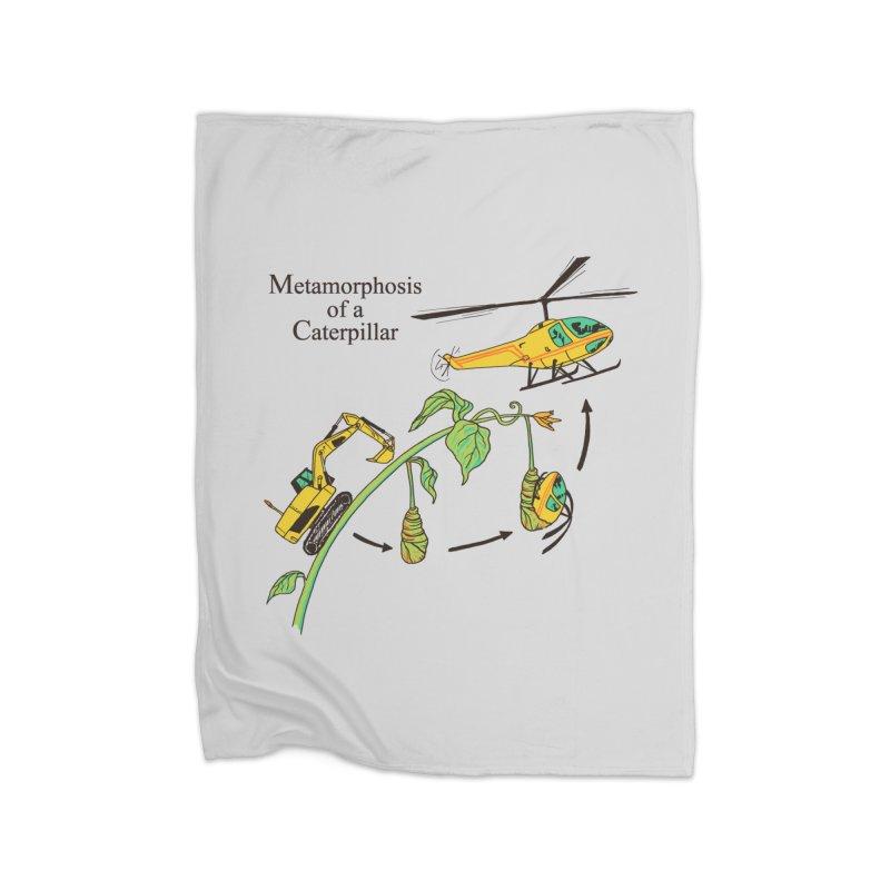 Metamorphosis of a Caterpillar Home Blanket by hillarywhiterabbit's Artist Shop
