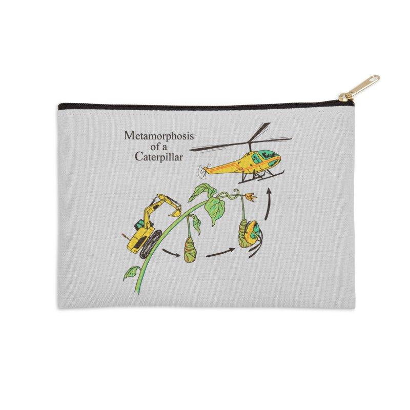 Metamorphosis of a Caterpillar Accessories Zip Pouch by hillarywhiterabbit's Artist Shop