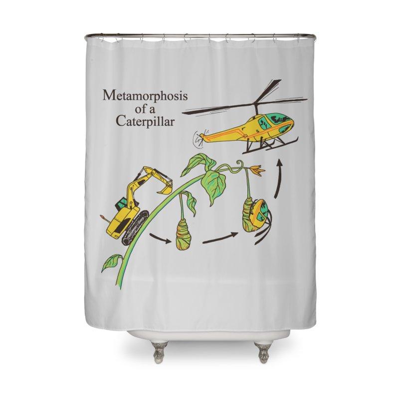 Metamorphosis of a Caterpillar Home Shower Curtain by hillarywhiterabbit's Artist Shop