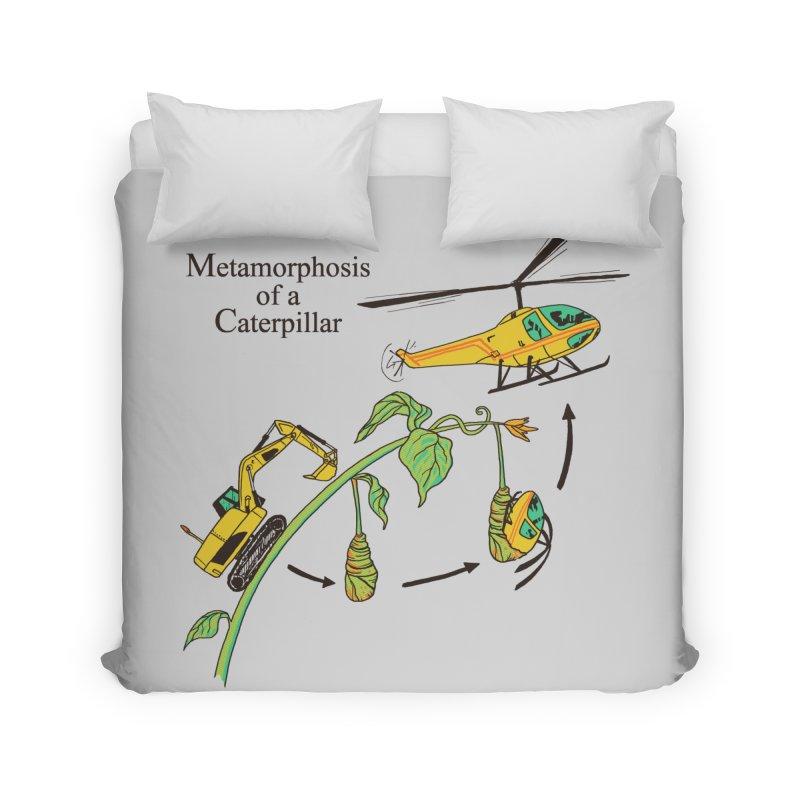 Metamorphosis of a Caterpillar Home Duvet by hillarywhiterabbit's Artist Shop
