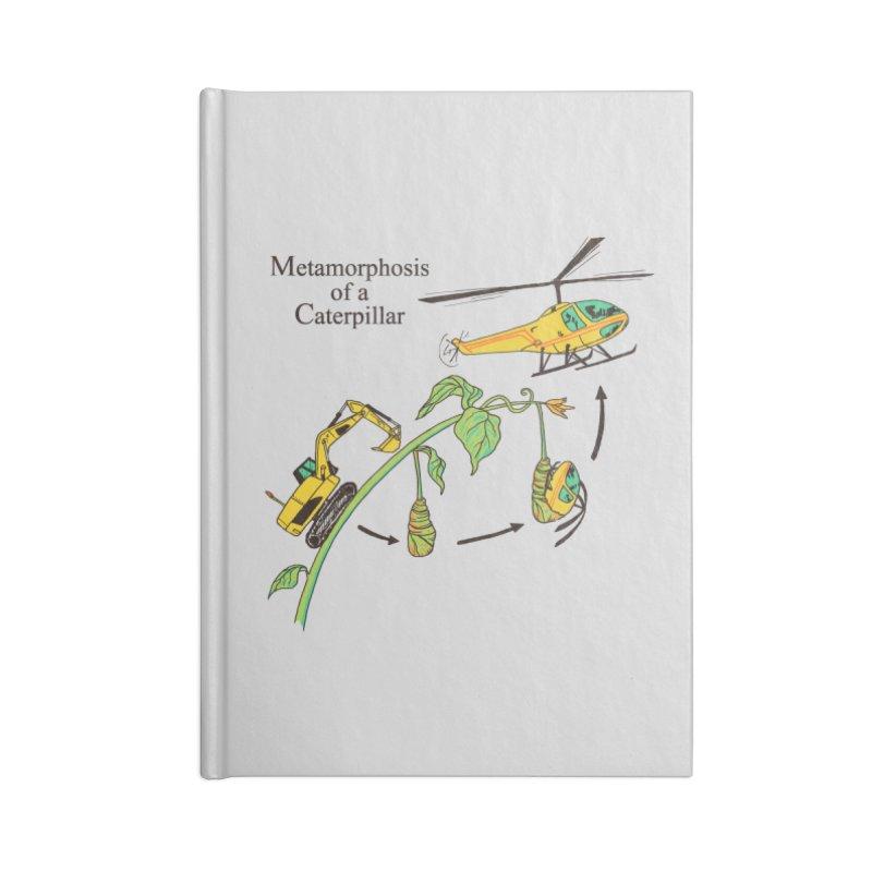 Metamorphosis of a Caterpillar Accessories Notebook by hillarywhiterabbit's Artist Shop