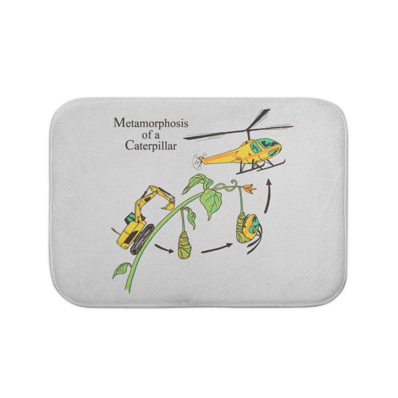 Metamorphosis of a Caterpillar Home Bath Mat by hillarywhiterabbit's Artist Shop
