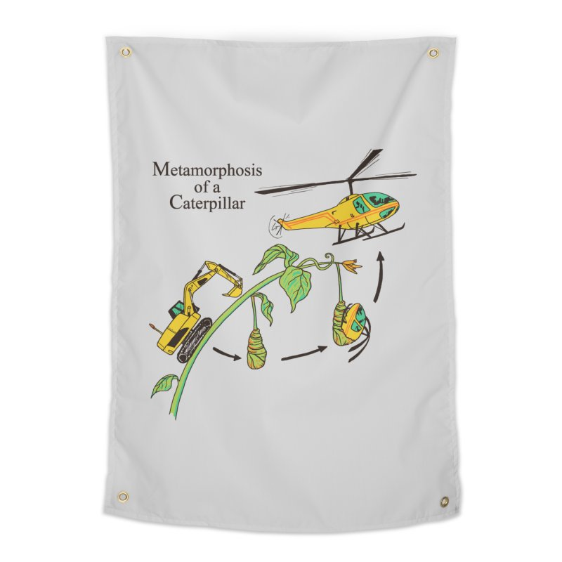 Metamorphosis of a Caterpillar Home Tapestry by hillarywhiterabbit's Artist Shop