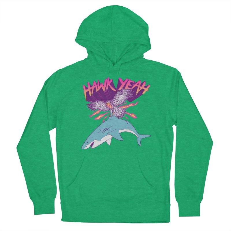 Hawk Yeah Women's Pullover Hoody by hillarywhiterabbit's Artist Shop